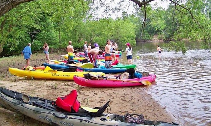 Blackwater Outfitters, Llc - Courtland: $98 for $185 Worth of Kayak Rental — Blackwater Outfitters, Llc