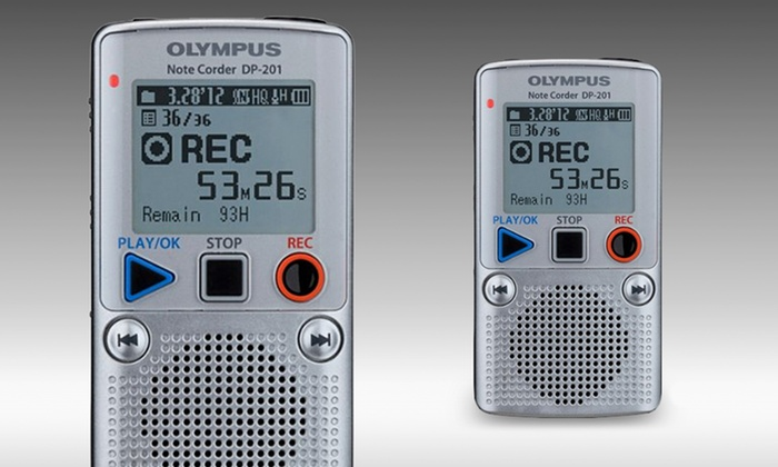 Olympus DP-201 Digital Voice Recorder: Olympus DP-201 Digital Voice Recorder (Manufacturer Refurbished). Free Shipping and Returns.