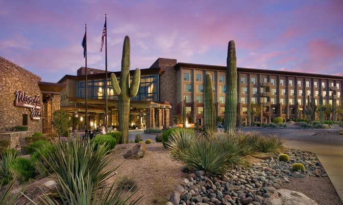 1-Night Stay with Slot and Breakfast Credits at Radisson Fort McDowell Resort in Greater Scottsdale, AZ Deals for only $89 instead of $180