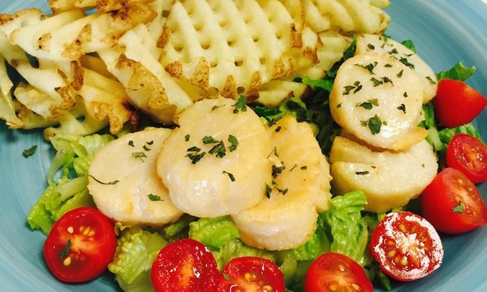 B&B Fish N Chips and Seafood Market - Hancock: $20 for $32 Worth of Fish and Chips — B&B Fish N Chipe