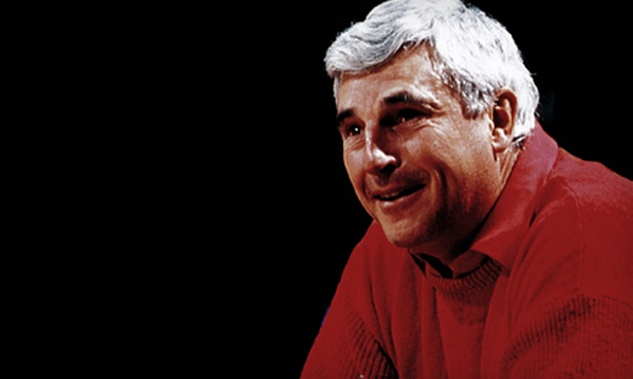 """A Knight to Remember"" featuring Bob Knight - Greenwood: $50 to See ""A Knight to Remember"" with Bob Knight at The Gathering Place on October 18 at 7 p.m. (Up to $104.49 Value)"
