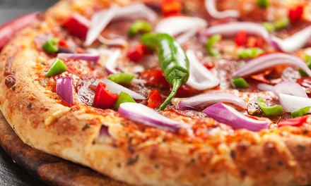 Pizza, Pasta, and Calzones at Pizza Factory Fernley (Up to 45% Off)