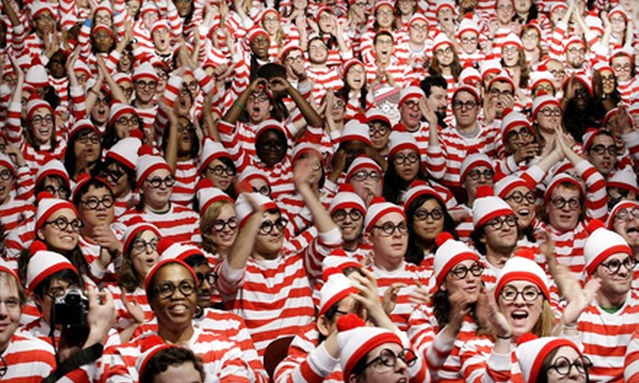 Scavenger Hunt USA - Multiple Locations: Where's Waldo Scavenger Hunt for One or Two in New York or Hoboken from Scavenger Hunt USA (53% Off)