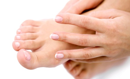 $299 for Toenail-Fungus Removal Treatment for Both Feet at Clear Nails Colorado ($699 Value)