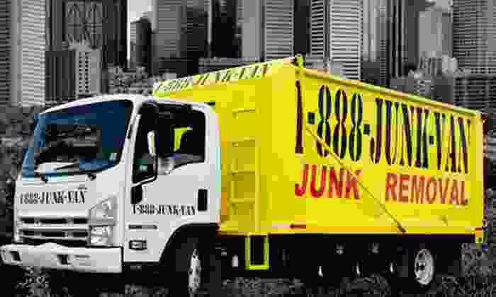 1-888-JUNK-VAN - Strathrory: $35 for Up to 250 Pounds of Junk Removal Plus Labor, Transportation and Disposal Fee from 1-888-JUNK-VAN ($152.50 Value)