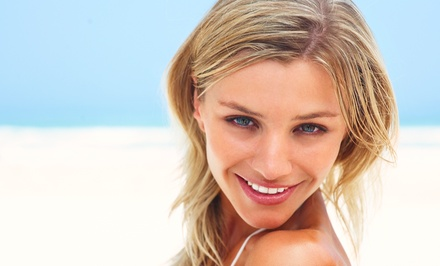Haircut and Style with Color, Partial Highlights, or Eyebrow Wax at Salon Salon (Up to 63% Off)