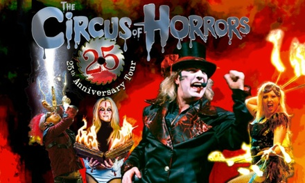 The Circus of Horrors, 25 October 17 November, Four Locations
