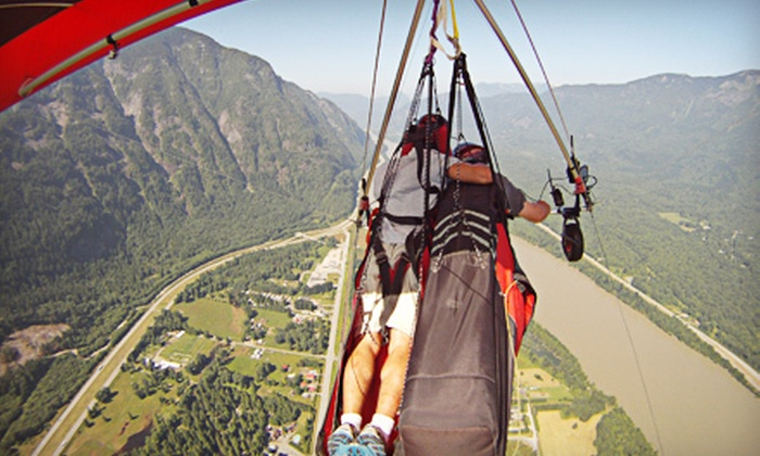 Fly Gravity Sports - Hope: Introductory Tandem Hang-Gliding for One or Two from Fly Gravity Sports (Up to 51% Off)