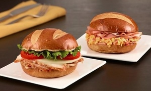 HoneyBaked Ham : Sandwiches, Drinks, and Ham at HoneyBaked Ham (Up to 40% Off). Two Options Available.