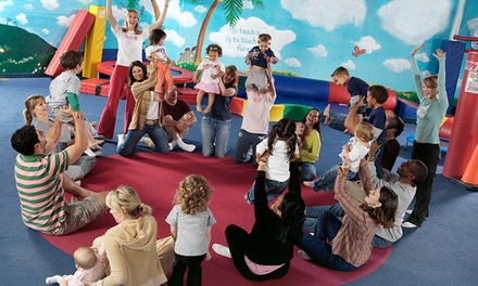 One Month of Classes for One or Two Kids or a Birthday Party for Up to 12 Kids at My Gym (Up to 53% Off)