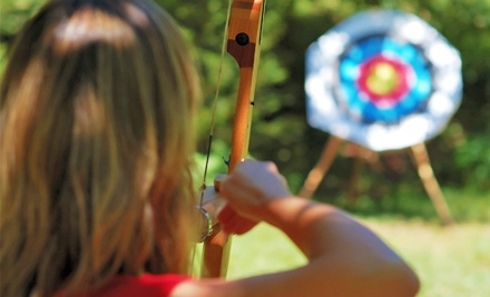 60-Minute Lesson for One or Two, or Two Hours of Equipment Rental for One at Pacific Archery Sales (Up to 53% Off)