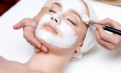 Premier Massage or Facial at Spavia <strong>Day</strong> Spa - Lowry Town Center (Up to 48% Off)