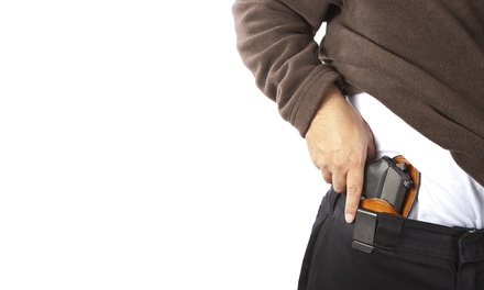 Basic Firearm-Safety Course for One or Two at Trained 2 Conceal (Up to 58% Off)