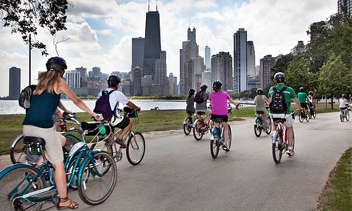 Bobby's Bike Hike - Near North Side: Guided Bike Tours or a Full-Day Bike Rental from Bobby's Bike Hike (Up to 51% Off). Four Options Available.
