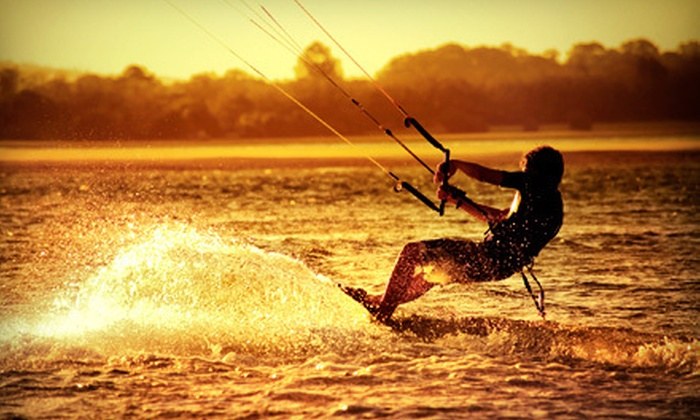 Aerial Kiteboarding - Squamish: Three-Hour Kiteboarding Package including Course and Riding Lesson for One or Two from Aerial Kiteboarding in Squamish (Up to 67% Off)