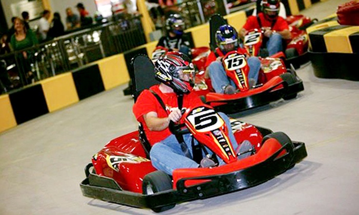 Pole Position Raceway - Crestwood: Two Same-Day Races with Optional Membership, Birthday Race &T-Shirt at Pole Position Raceway (Up to 50% Off)