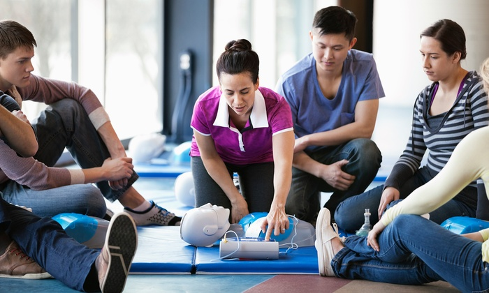 OC Safety - Orange: Basic Life Support Class or CPR and First Aid Class at OC Safety (Up to 42% Off)