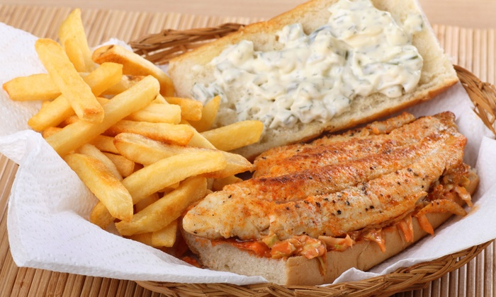 Catch of The Day Seafood Sports & Grill - Jersey Village : $14for $25 Worth of Seafood for Two at Catch of The Day Seafood Sports & Grill