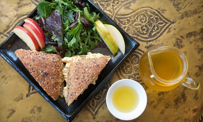 Samovar Tea Lounge - Multiple Locations: $30 for $50 Worth of Artisan Whole-Leaf Tea and Global Fusion Café Cuisine at Samovar Tea Lounge