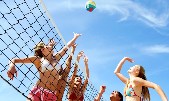 Blue Jay Bar and Grill - Jefferson Square: $49 for 10-Week Volleyball Team Registration with Large Pizza at The Blue Jay Bar & Grill ($169.90 Value)