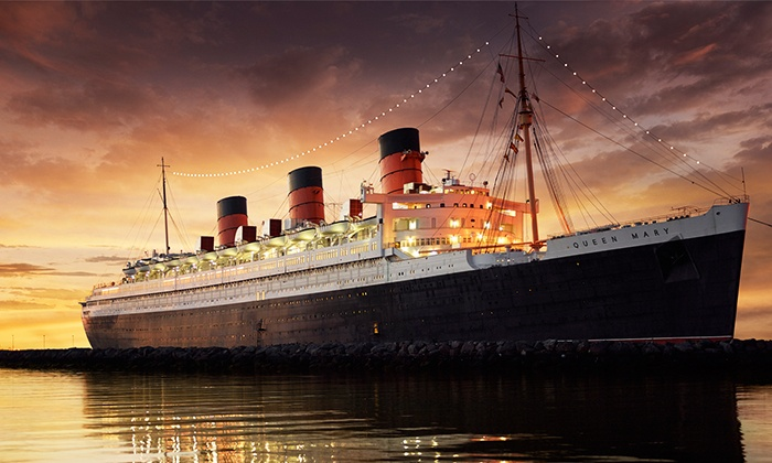 Queen Mary Events - Long Beach, CA: Historic or Haunted First-Class Passport Tour for One or Two from Queen Mary Events (Up to 53% Off)