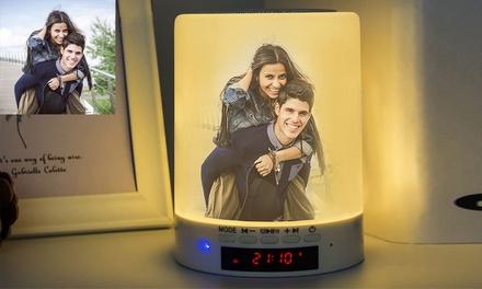 Altavoz Bluetooth con luz led y personalizado con foto y texto en Justyling (hasta 79% de descuento)