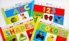 Busy Baby 4-Book Collection: Busy Baby Collection of 4 Softcover Books with 123, ABC, Colors, and Shapes