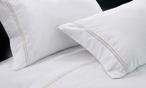 1200TC Cotton-Rich Sheet Set w/ Double Marrow Hem