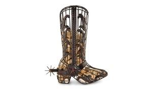 Cork Cage Cowboy Boot