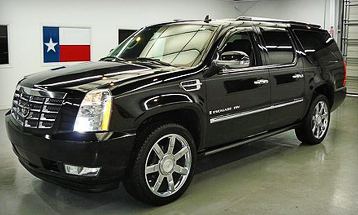 Ace's Limousine and Transportation - Industrial Acres: One or Two Hours of Luxury SUV Chauffeuring from Ace's Limousine and Transportation (Up to 64% Off)