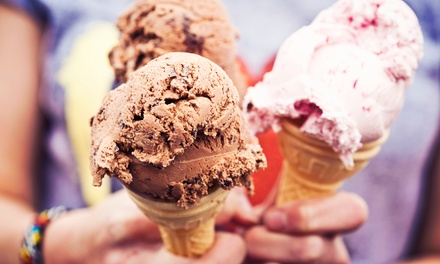 Ice Cream, Frozen Yogurt, and Sweets at Get the Scoop (50% Off)