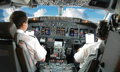 image for 30- or 60-Minute Flight Simulator Experience  for One from Leading Edge Flight Training (Up to 51% Off)
