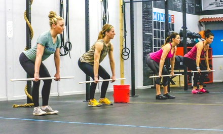 Four Weeks of Unlimited CrossFit Classes at OV CrossFit (70% Off)