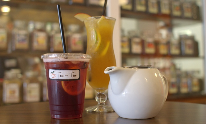 Tea and Tea - Winter Park Village: $14 for Two Groupons, Each Good for $10 Worth of Tea and Baked Goods at Tea and Tea ($20 Total Value)