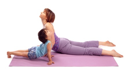 $109 for Six-Week Mommy & Me Yoga Program at Yoga Solace Club ($200 Value)