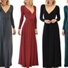 Lyss Loo Women's Long-Sleeve Maxi Dress