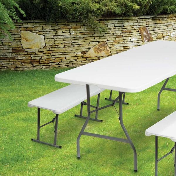 Tables Pliantes Banc Pliant Groupon Shopping