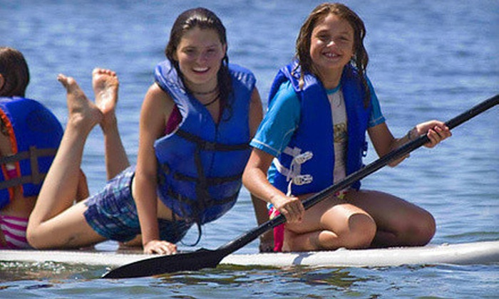 Jupiter Outdoor Center - The River Center: $37 for a One-Day Children's School's Out Paddle Camp from Jupiter Outdoor Center ($75 Value)