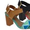 Zuka Tara Women's Sling-Back Open-Toe Sandals