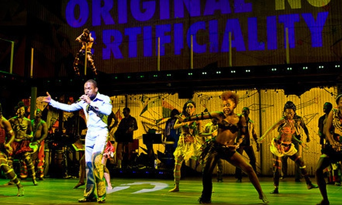 """Fela!"" The Broadway Musical - The Fox Theatre: ""Fela!"" Musical Featuring Michelle Williams at The Fox Theatre on March 1, 2, or 3 (Up to 41% Off)"