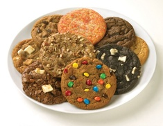 Great American Cookies Colorado: Two or Four Groupons, Each Good for $10 Worth of Cookies at Great American Cookies (45% Off)