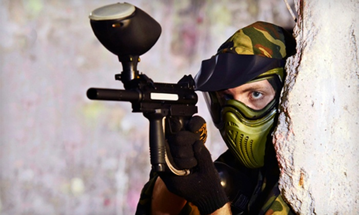 Paintball Plex - Butler: All-Day Paintball with Equipment and 200 Paintballs Each for Two, Four, or Six at Paintball Plex (Up to 60% Off)