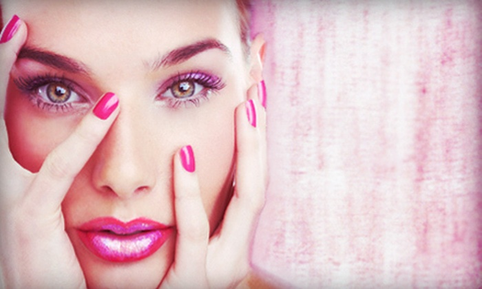Salon Shahin - Stamford: Mani-Pedi with Option for Blowout at Salon Shahin (Up to 54% Off)
