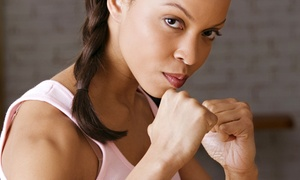 Kumite Martial Arts: 10 or 20 Cardio Kickboxing Classes at Kumite Martial Arts (Up to 66% Off)