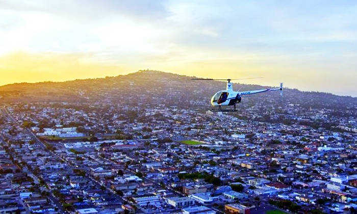 Anthelion Helicopters - Anthelion Helicopters: Helicopter Tour for Two or Three from Anthelion Helicopters (Up to 44% Off)