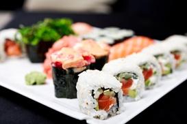 Sakura Japanese & Sushi Restaurant: $1 Buys You a Coupon for Free Hot Sake Or Edamame W/ Purchase Over $50 (Take Out) at Sakura Japanese & Sushi Restaurant