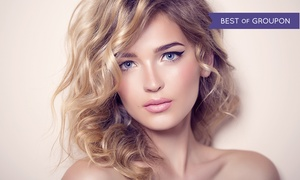 Blow Dry Style Lounge: Blowout with Optional Haircut, Manicure and Free Mimosa or Expresso at Blow Dry Style Lounge (Up to 65% Off)