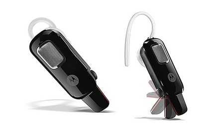 Motorola HX550 Universal Bluetooth Headset with Flip Boom and Noise Reduction