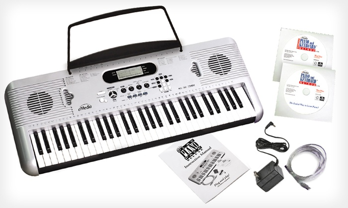 eMedia Play Piano Pack Deluxe: $89 for eMedia Play Piano Pack Deluxe with Keyboard ($299.95 List Price). Free Shipping and Free Returns.