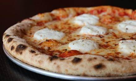 Pizza at 1000 Degrees Neapolitan Pizza  Bridgewater (Up to 47% Off). Two Options Available.